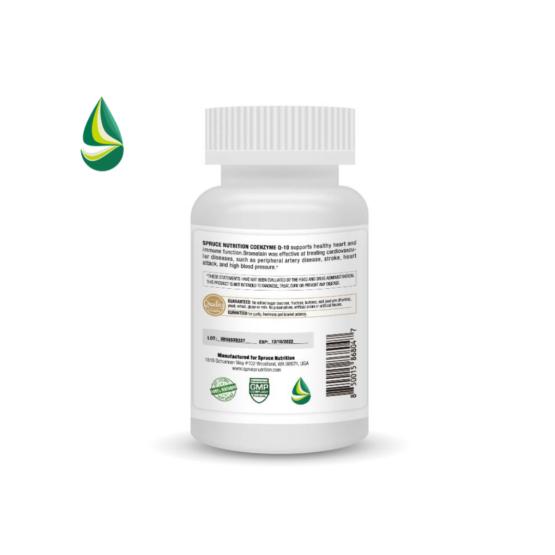 美國雲杉護心酶Q10認證