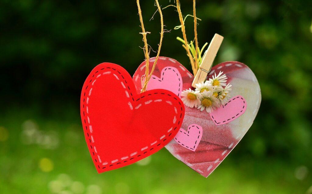 heart, love, red heart