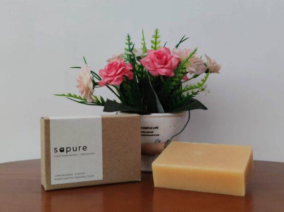 sapure香茅生薑手工皂
